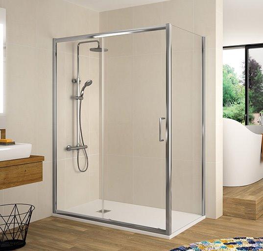 Cambio de bañera por un plato de ducha con mampara por 975€ +IVA