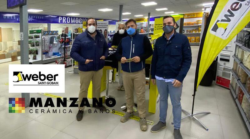 Sorteo Weber en Prefabricados Manzano