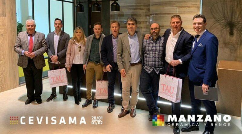 MANZANO visita CEVISAMA 2019