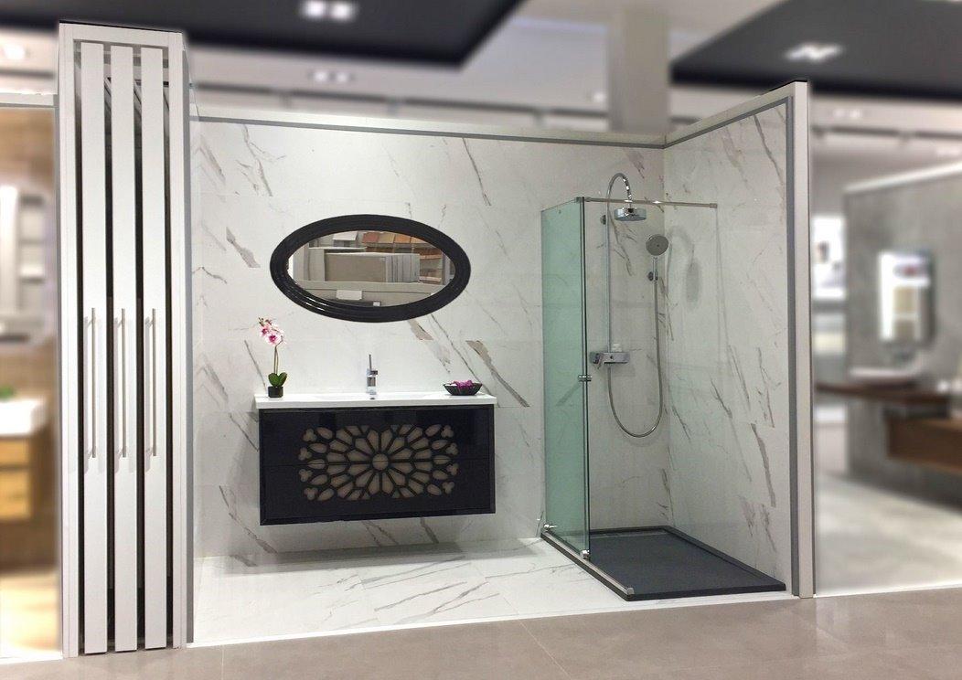 Exposición Cerámica y baños en Cáceres