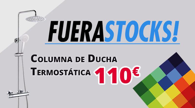 Columna de ducha termostática por 110€