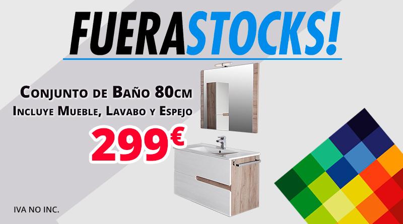 Conjunto de baño LIVE por 299€ +IVA