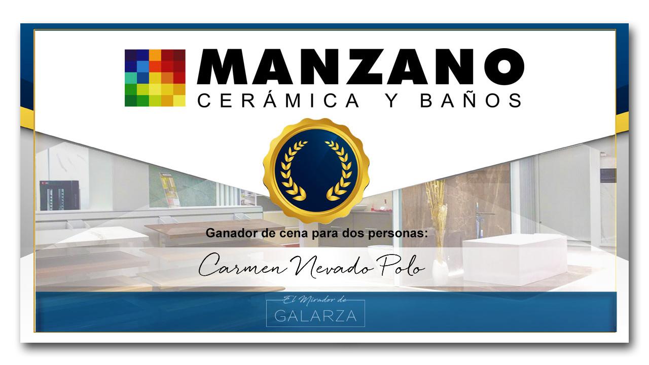 Diploma de concurso cena Manzano