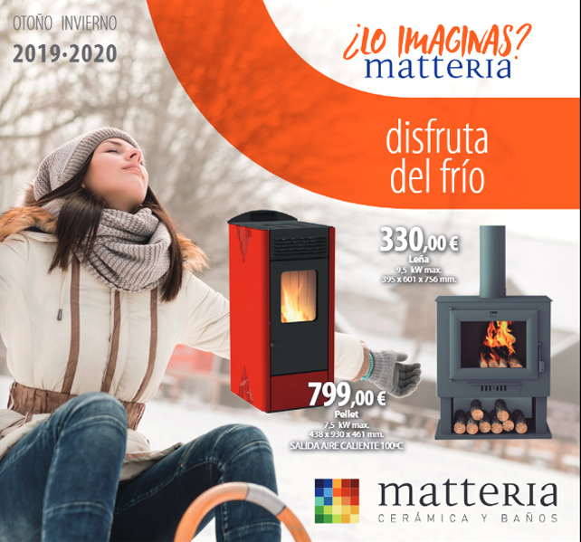 Folleto Matteria - Disfruta del frío 2019-2020
