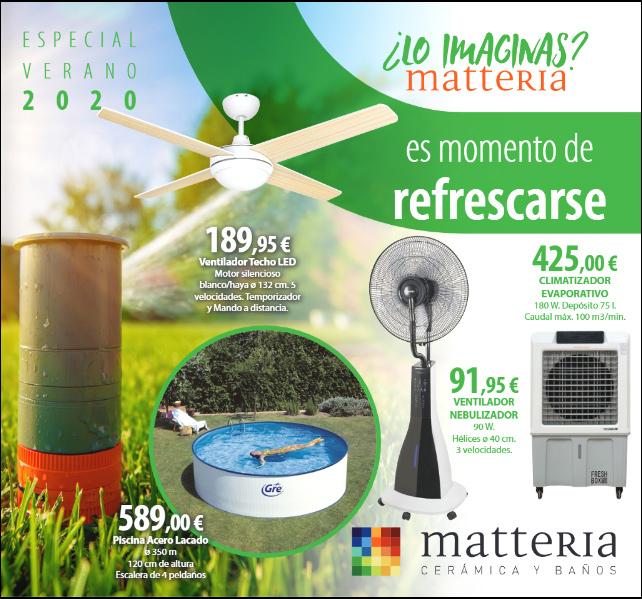 Folleto Matteria especial verano 2020