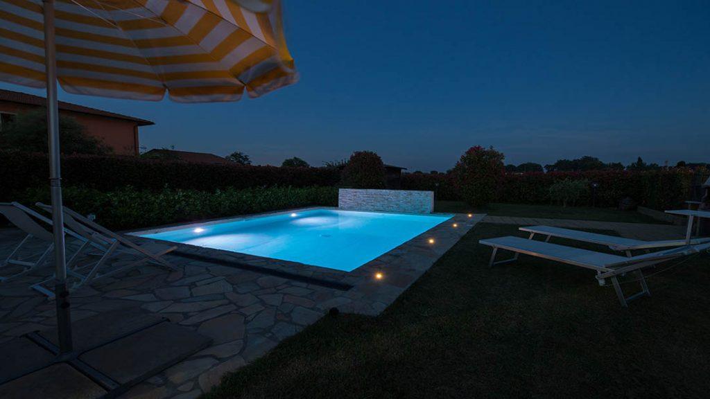 Iluminacion de piscinas
