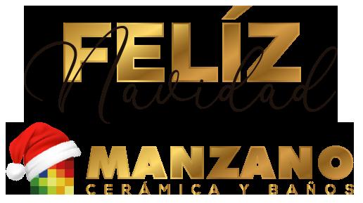 Logo Navidad 2020 MANZANO - Cerámica y Baños