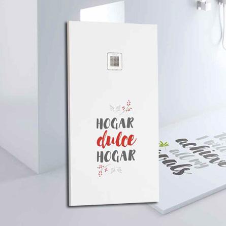 Plato de ducha personalizado - HOGAR DULCE HOGAR