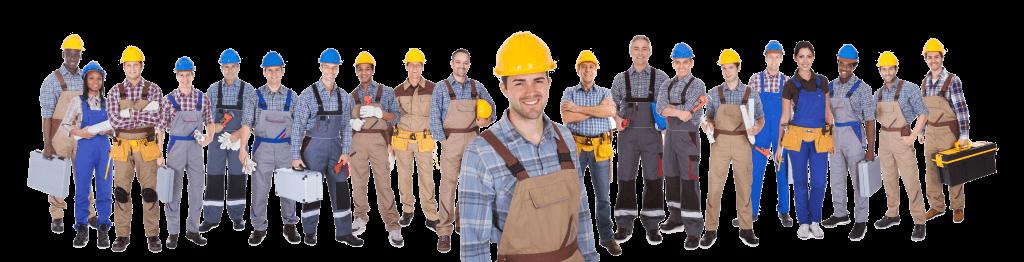 Profesionales de la construcción