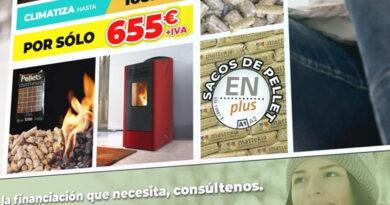 Promoción estufas de pellet