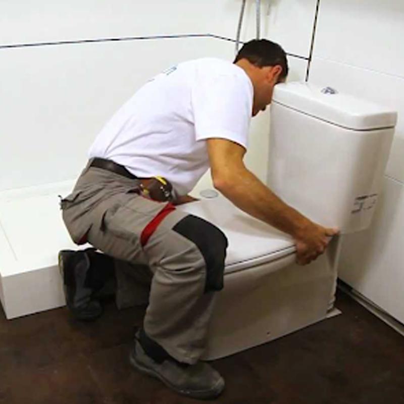 Reformando el baño con mano de obra incluida