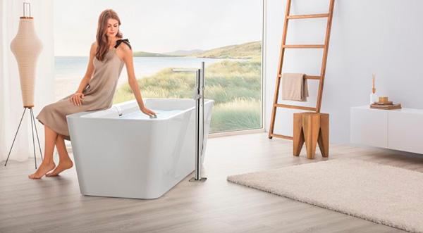 Diseño de cuarto de baño en 3D