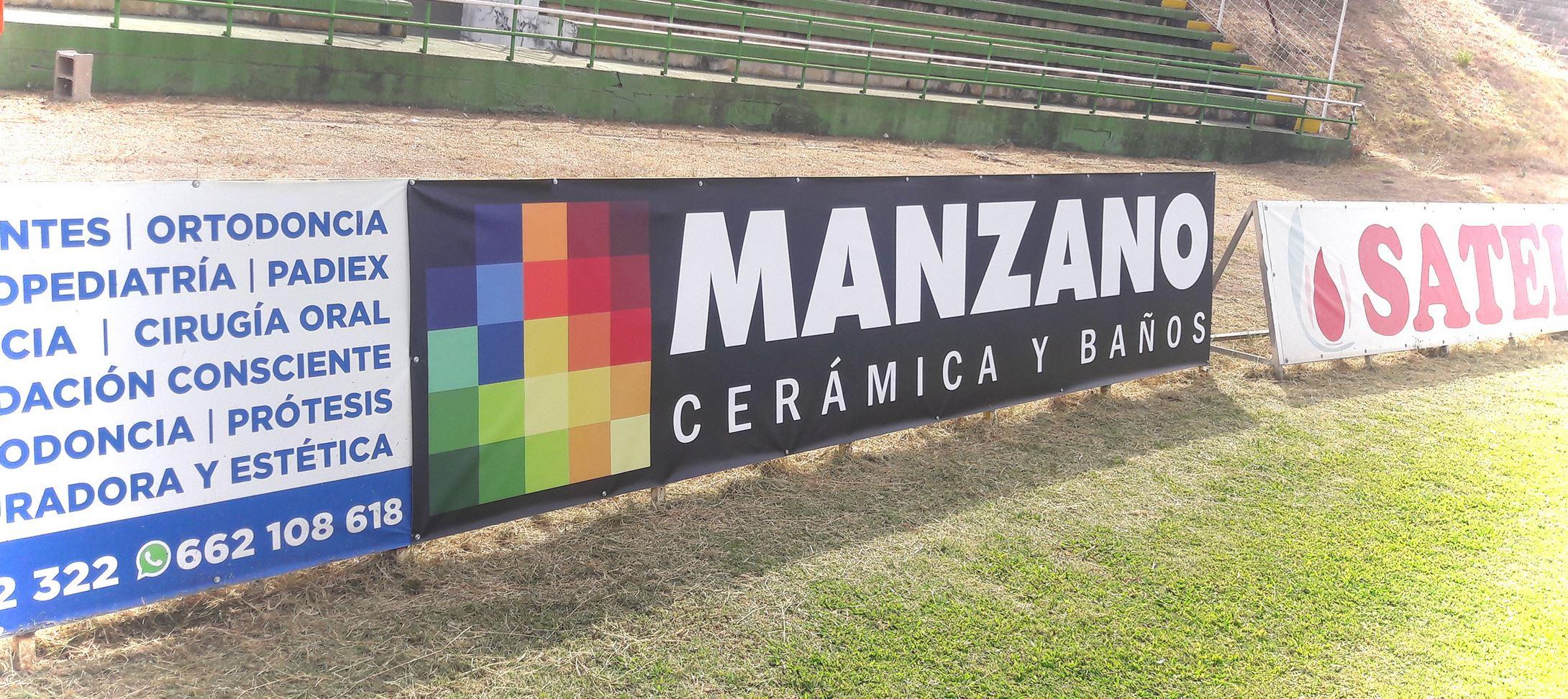 MANZANO PATROCINADOR OFICIAL DEL CLUB POLIDEPORTIVO CACEREÑO