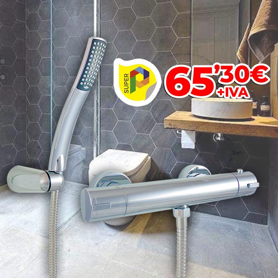 Termostática de ducha (Equipo completo)